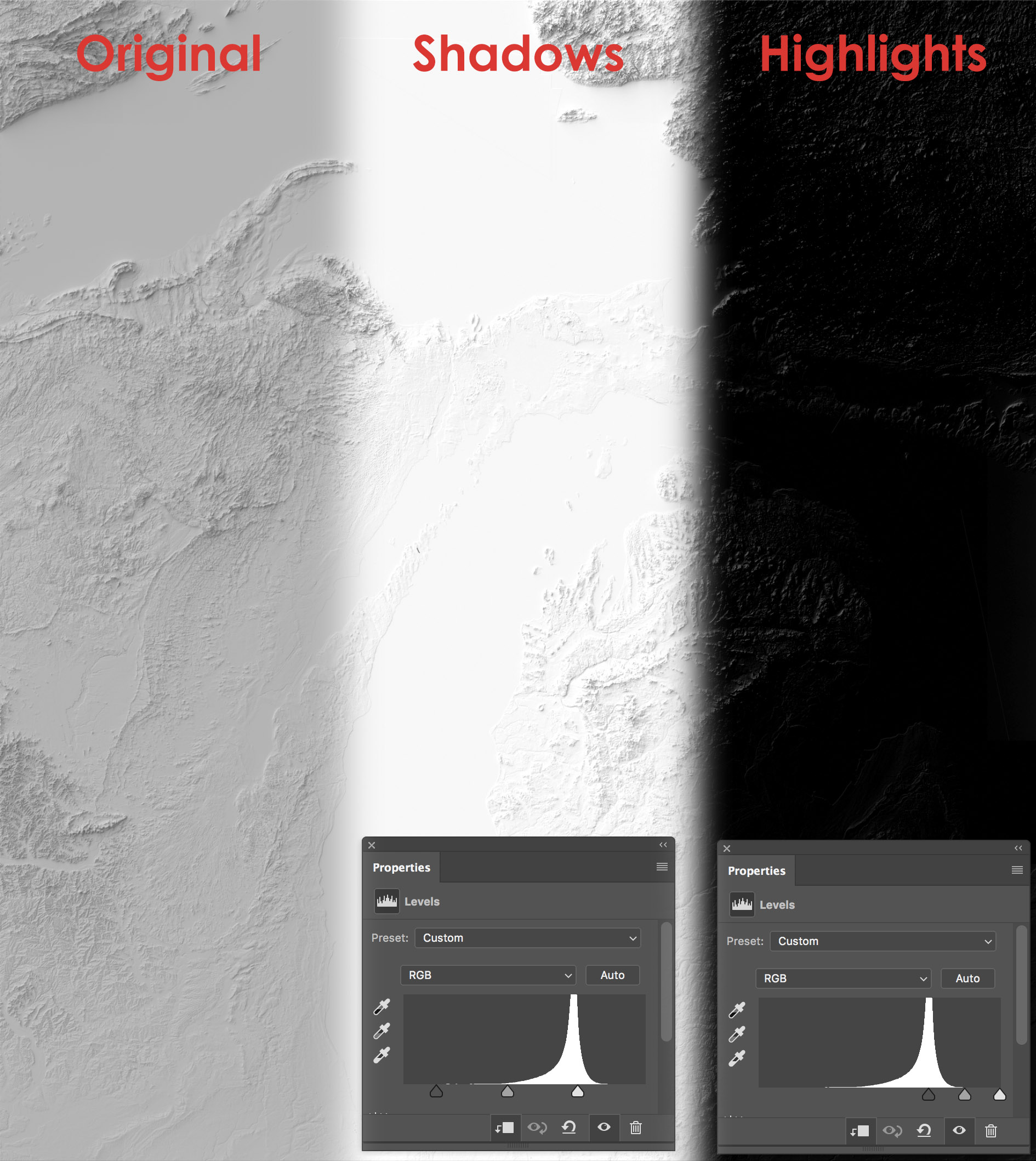 Terrain in Photoshop: Layer by Layer | somethingaboutmaps