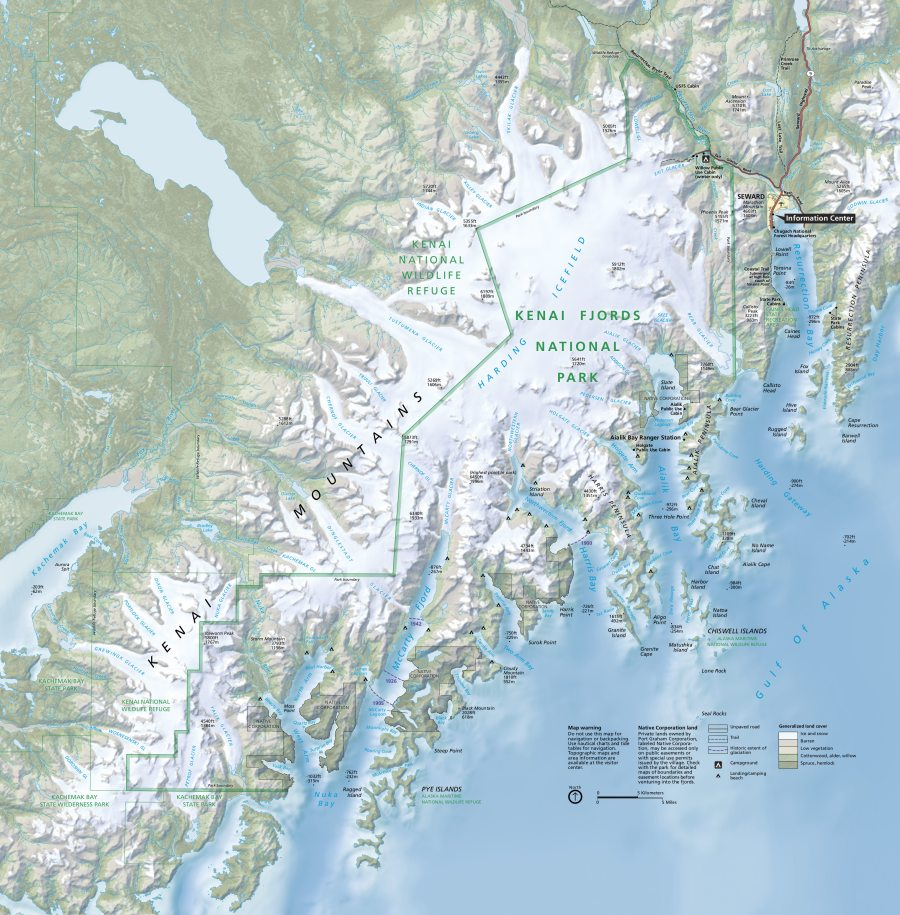 kenai-fjords-map